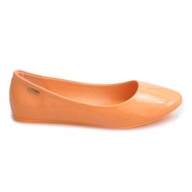 Lacquered Ballerinas 11037 Orange