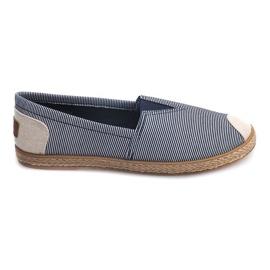 Sneakers Espadrilles Linen 326 Blue