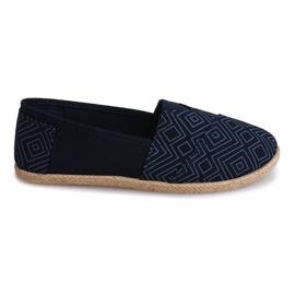 Sneakers Espadrilles Linen B211-3 Blue