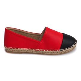 Sneakers Espadrilles Linen LX116 Red