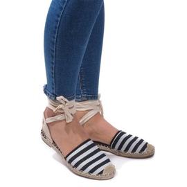 Sandals Espadrilles Ballet Shoes Balerinki 6368 Black