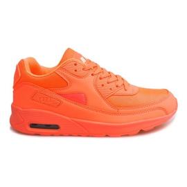 Sport running shoes D1-16 Orange