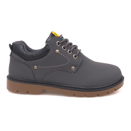 Grey Classic Shoes Shoes JX-20 Gray