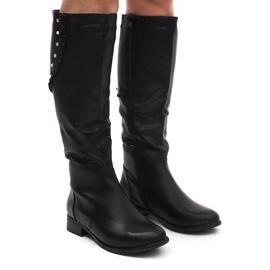 Boots Saszki Kozaki 6275-1 Black