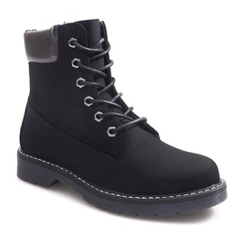 Warmed Trappers 061-1 Black