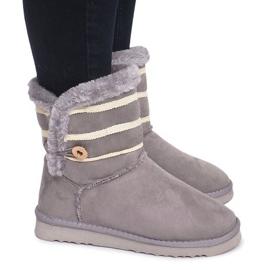Grey Czarne Eskimoski 89-67 Gray