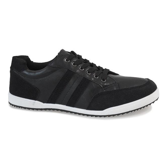 Black men's sneakers M-621