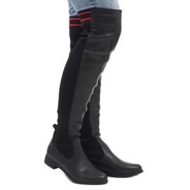 Navy Dark blue boots Vices 1544-13