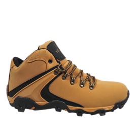 Brown Camel insulated snow boots M2378-2