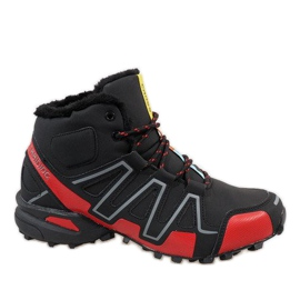 Black insulated snow boots BN8810