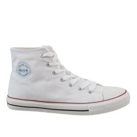 White classic men's sneakers CQ-1401