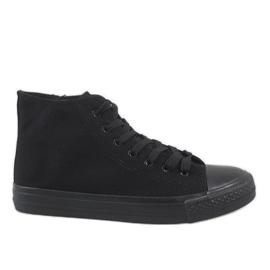 Black men's sneakers XN50