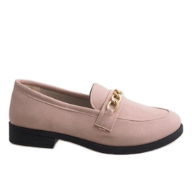 Pink loafers for MP-11 ballerinas