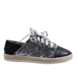 Black sneakers TL-39 espadrilles