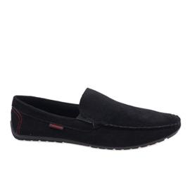 Black elegant loafers AB96K-1