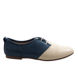 Beige oxford two oxford shoes