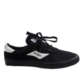 Black men's sneakers HW01