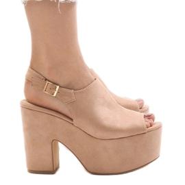 Pink sandals on a massive 8263CA brick