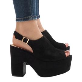 Black sandals on a massive 8263CA brick