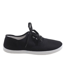 Black men's sneakers SR13103