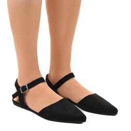 Black ballet shoes 235-4