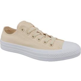 Brown Shoes Converse Ctas Ox W 163306C