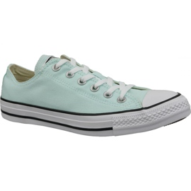 Blue Shoes Converse C. Taylor All Star Ox Teal Tint In 163357C