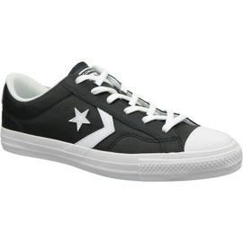 Black Converse Star Player Ox 159780C shoes