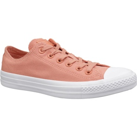 Orange Converse C. Taylor All Star shoes W 163307C