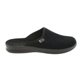 Black Befado men's shoes pu 548M020