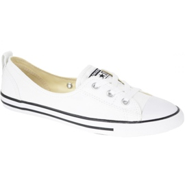 White Shoes Converse Chuck Taylor All Star Ballet Lace In C547167C