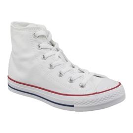 White Converse Chuck Taylor All Star Core Hi M7650C