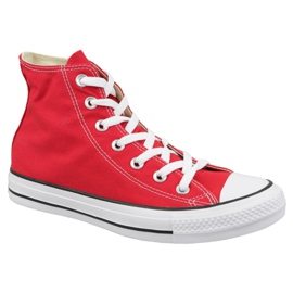 Red Shoes Converse Chuck Taylor All Star Hi M9621C