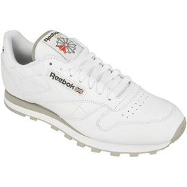 White Reebok Classic Leather M 2214 shoes