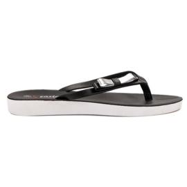 Seastar Flip-flops With Bow black