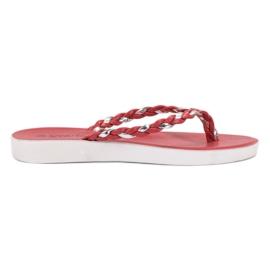 Seastar Red Woven Flip-flops