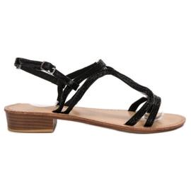 SHELOVET Sandals In Heels black