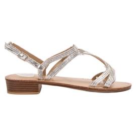 SHELOVET Sandals In Heels grey
