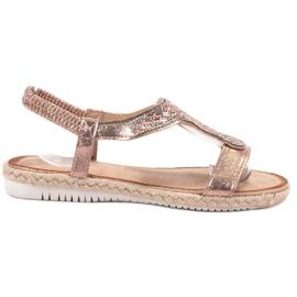 Emaks Slip Espadrilles sandals pink