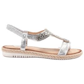 Emaks Slip Espadrilles sandals grey
