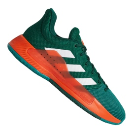 Basketball shoes adidas Pro Bounce Madness Low 2019 M BB9226 green green
