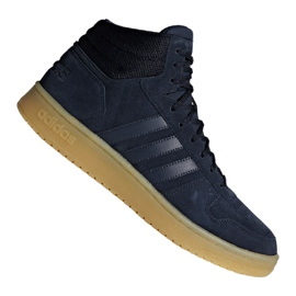 Basketball shoes adidas Hoops 2.0 Mid M F34798 navy blue navy