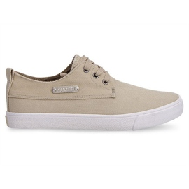 Textile Sneakers Casual Y011 Khaki