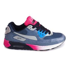 Sport Sneakers B49-6 Blue