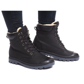 Insulated Boots X5903 Black