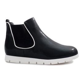 Black sports boots Gabrielle