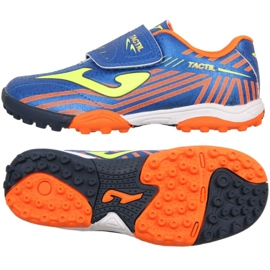 Football boots Joma Tactil 904 Tf Jr TACW.904.TF blue blue