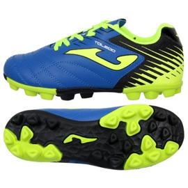Football boots Joma Toledo 904 Fg Jr. TOLJW.904.24 blue blue