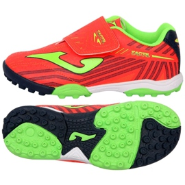 Football boots Joma Tactil 907 Tf Jr TACW.907.TF red red