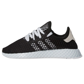 Black Adidas Originals Deerupt Runner shoes W EE5778